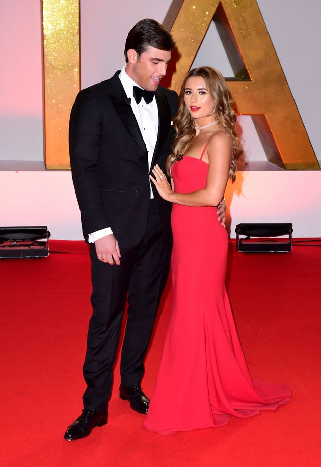 Jack and his girlfriend Dani Dyer at the NTAs last