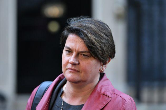 Arlene Foster Says EU 'Intransigence' Could Force No-Deal
