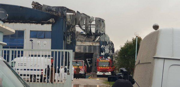 Le feu ravage totalement l'imprimerie d'El Watan et El Khabar à
