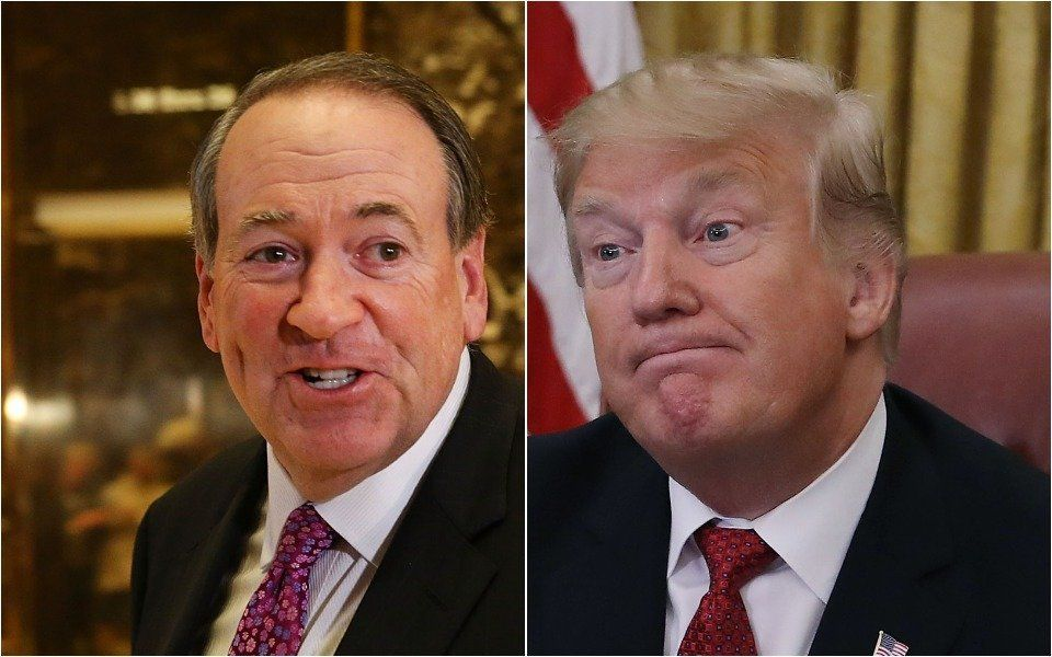 Mike Huckabee Likens Trump White House To Restaurant Kitchen, Gets Served