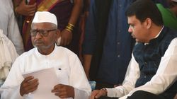 Anna Hazare Ends Lokpal Fast After Devendra Fadnavis Accepts