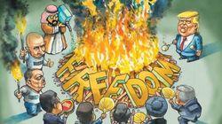 Η δημοκρατία σε υποχώρηση: Φόβοι για μείωση της ελευθερίας ανά τον
