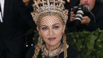 NEW YORK, NY - MAY 07:  Madonna attends 'Heavenly Bodies: Fashion & the Catholic Imagination', the 2018 Costume Institute Benefit at Metropolitan Museum of Art on May 7, 2018 in New York City.  (Photo by Taylor Hill/Getty Images)