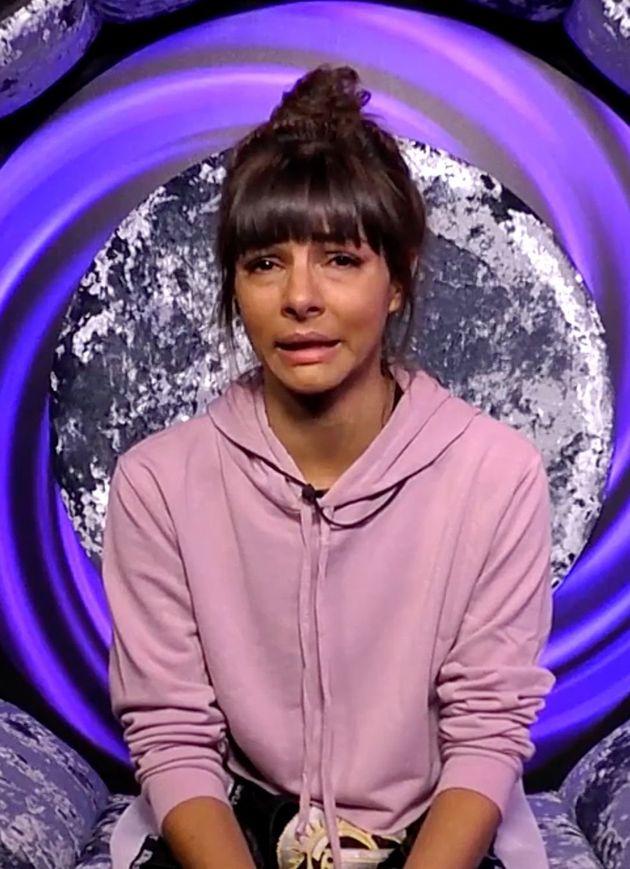 Roxanne Pallett on Celebrity Big Brother last