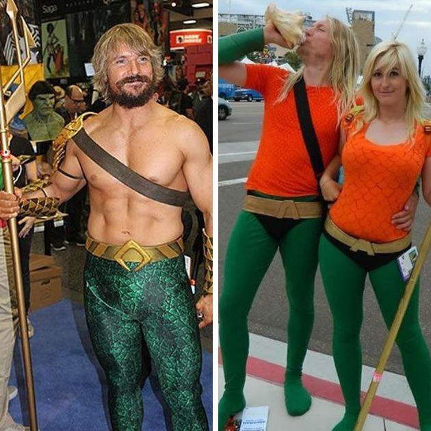 Tem Aquaman para todos os