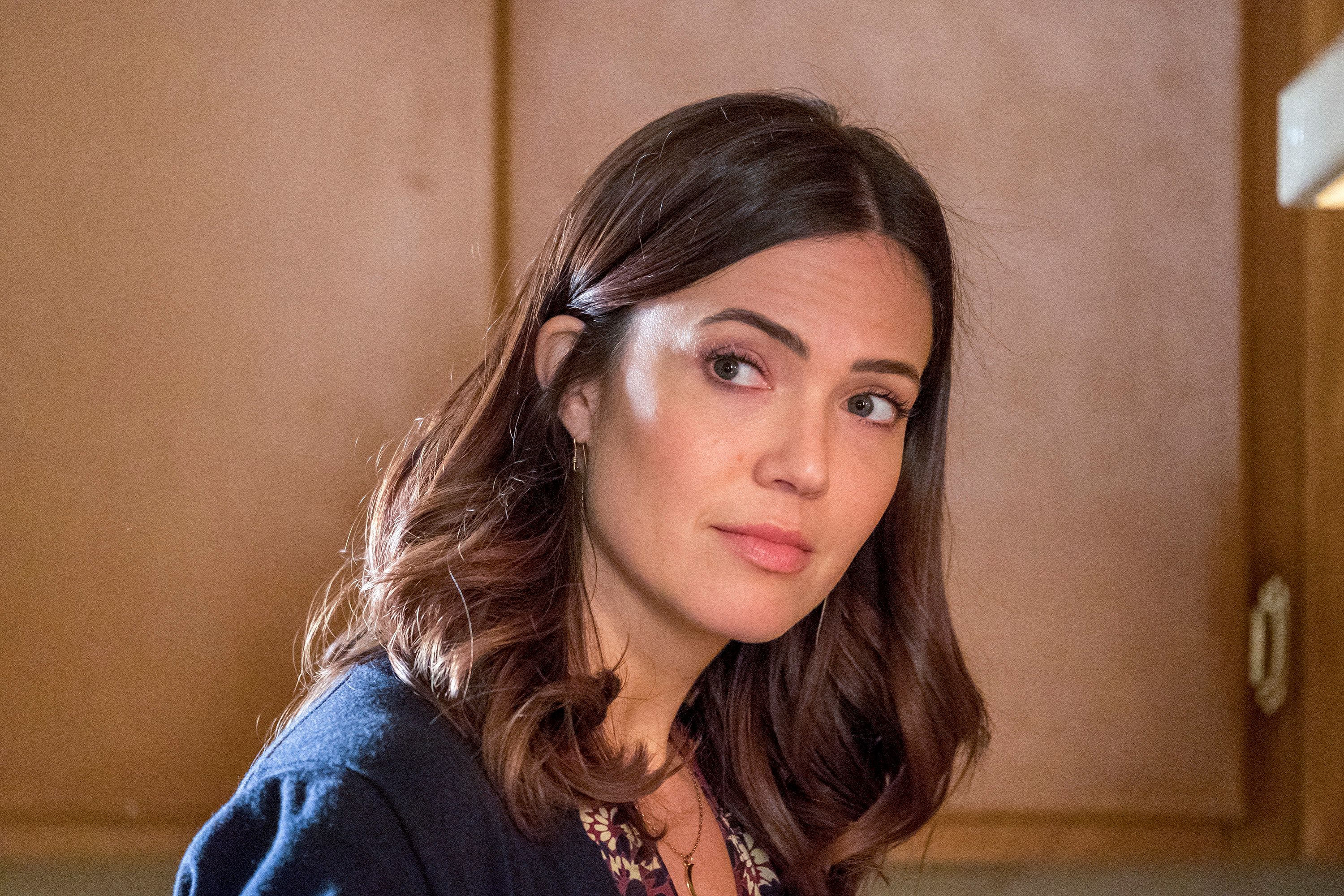 THIS IS US -- 'Songbird Road: Part One' Episode 311 -- Pictured: Mandy Moore as Rebecca -- (Photo by: Ron Batzdorff/NBC/NBCU Photo Bank via Getty Images)