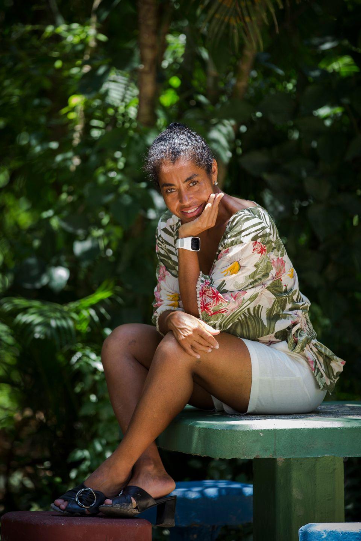 Ana Luiza mudou-se para a Cidade de Deus aos 16 anos e nunca mais morou em outro
