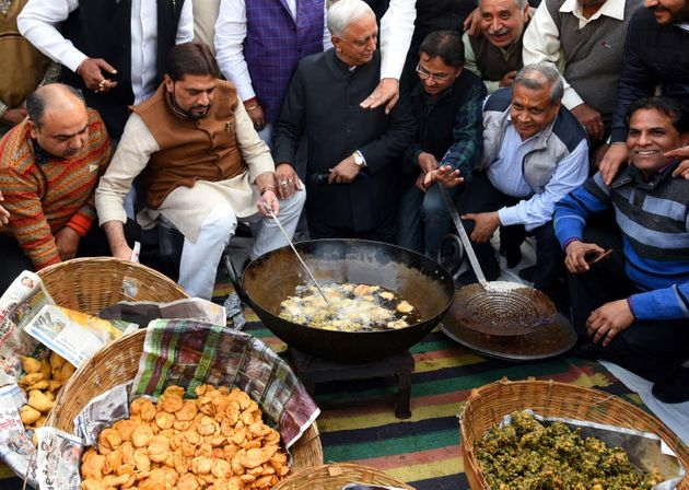 Prime Minister Narendra Modi has, in the past, equated selling pakoras with employment. In this photo,...