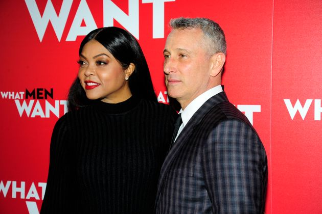 Taraji P. Henson and Adam Shankman at the New York premiere of