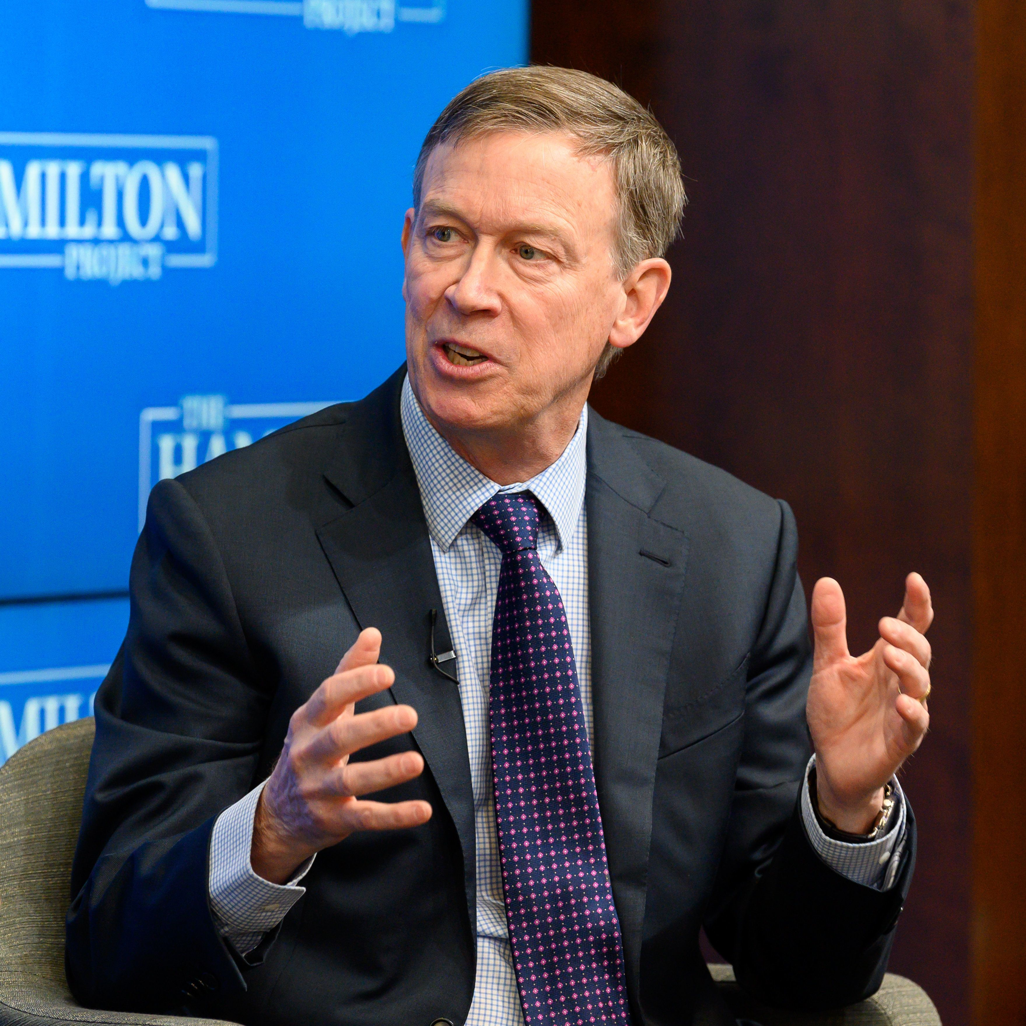Former Colorado governor John Hickenlooper joins race for president