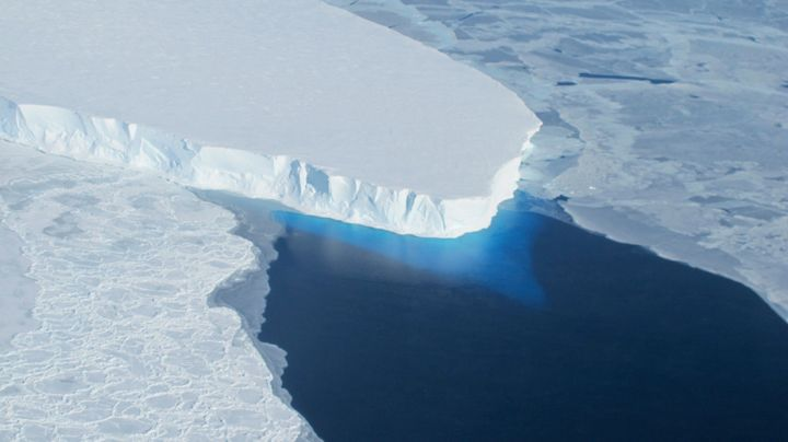 The Thwaites Glacier has a subterranean hole about two-thirds the size of Manhattan.