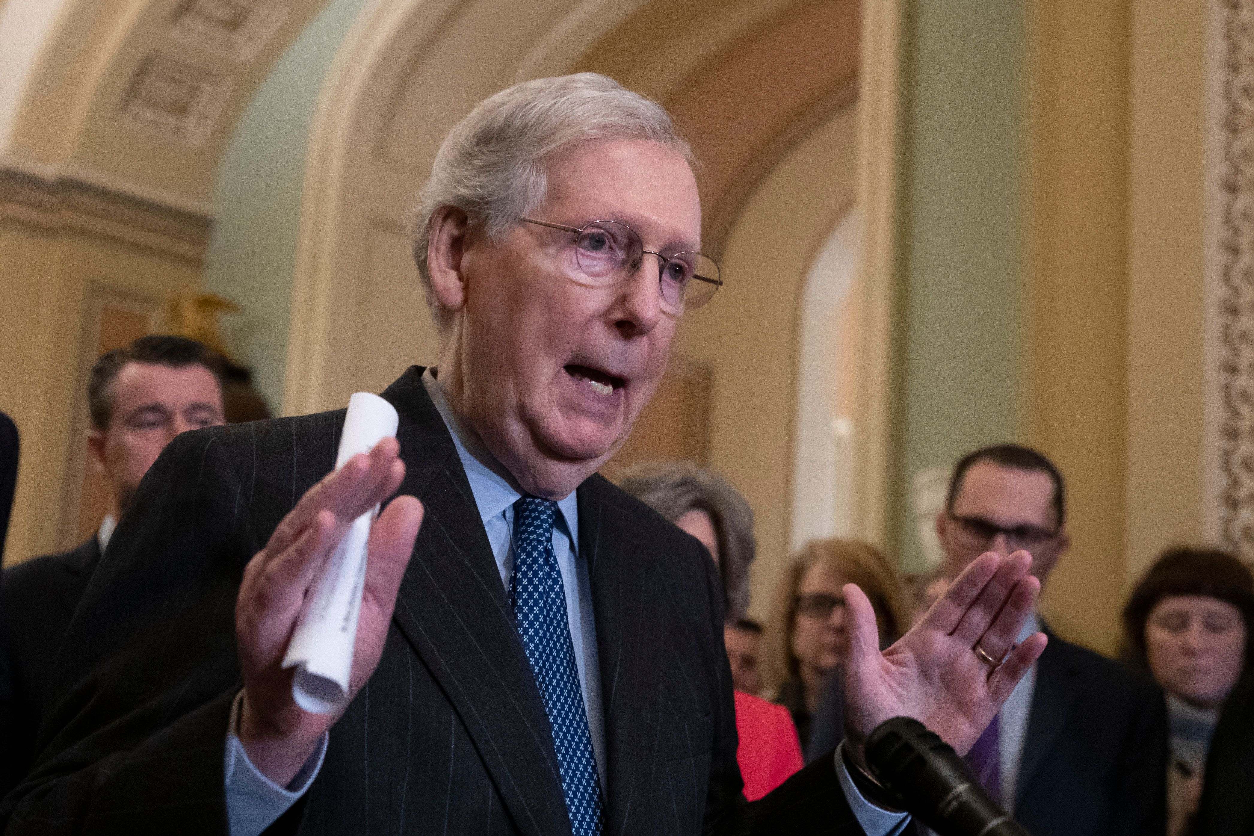 Mitch McConnell Attacks The Volunteer Backbone Of