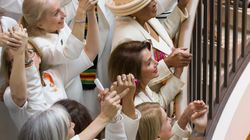 House Women Wear White To State Of The