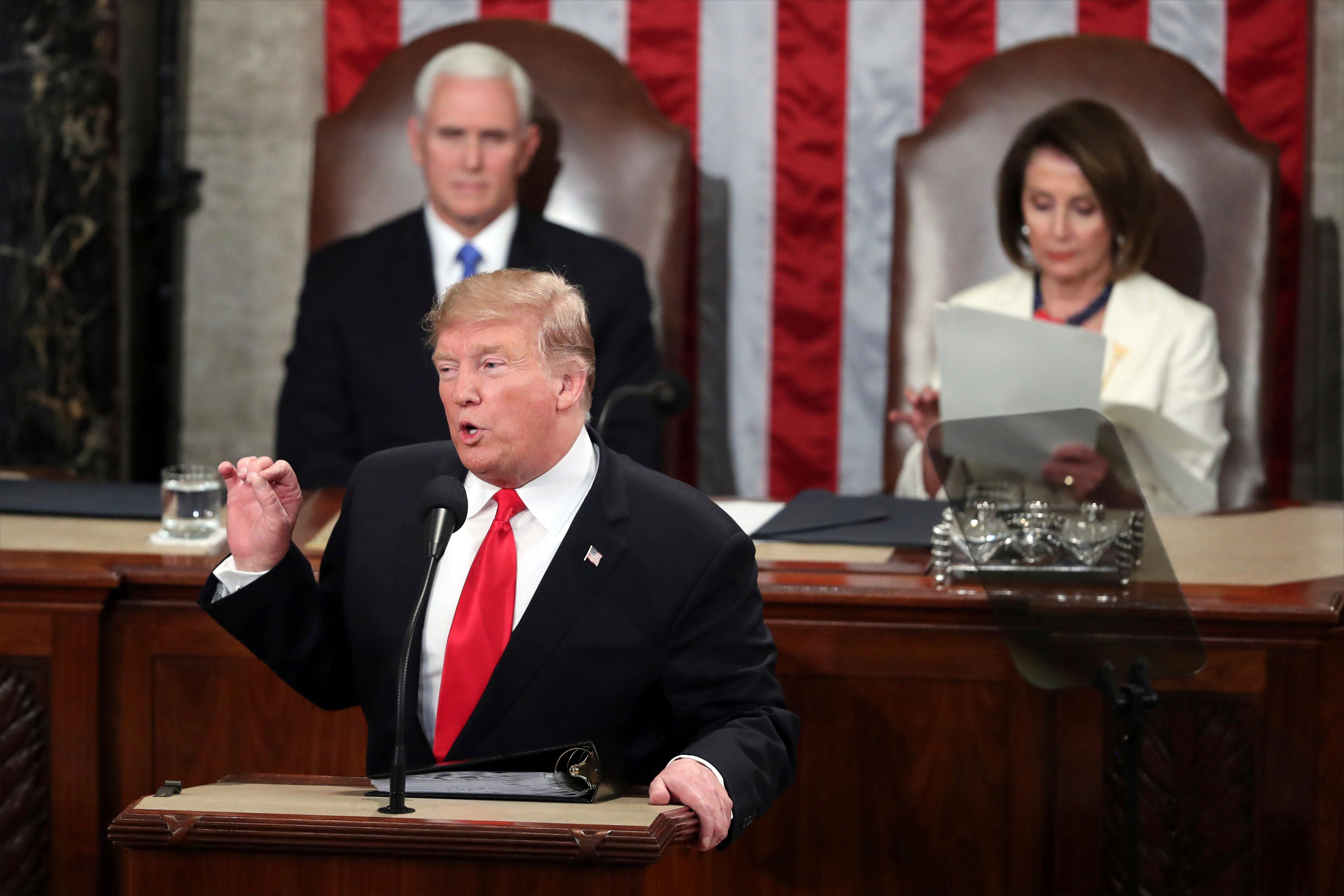 Trump Makes No Mention Of The Longest Shutdown In History In State Of The