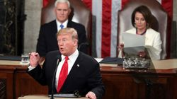 Donald Trump Makes No Mention Of The Longest Shutdown In History In US State Of The