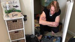 Φοιτήτρια ανακάλυψε ότι ένας άνδρας ζούσε για μέρες στην ντουλάπα της, αλλά δεν ήθελε να