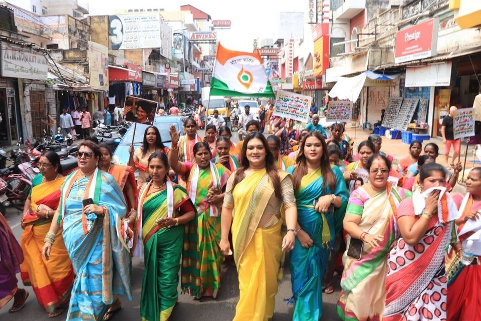Why Apsara Reddy, Congress's First Transgender Office Bearer, Chose Politics Over