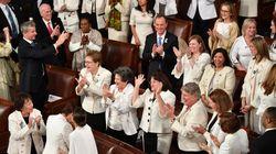 Pourquoi ces élues américaines se sont habillées en blanc pour le discours de