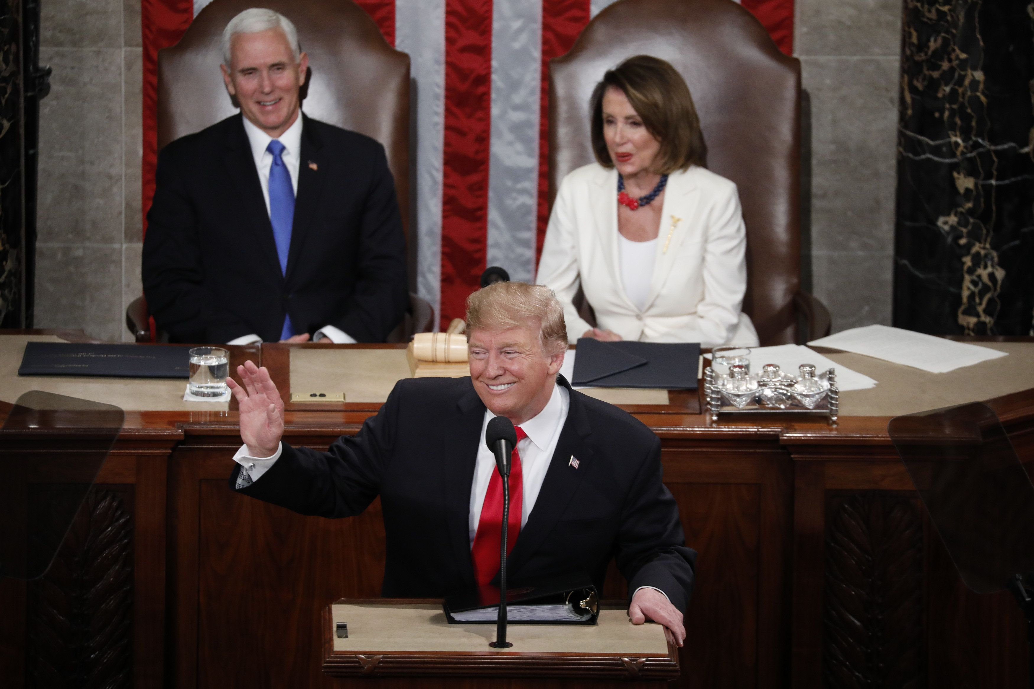 Donald Trump Delivers State Of The Union