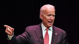 FORT LAUDERDALE FL - JANUARY 28: Former US Vice President Joe Biden speaks at an event titled 'An Evening with Vice President Joe Biden' in the Au-Rene Theater at The Broward Center on January 28, 2019 in Fort Lauderdale, Florida. Credit: mpi04/MediaPunch /IPX