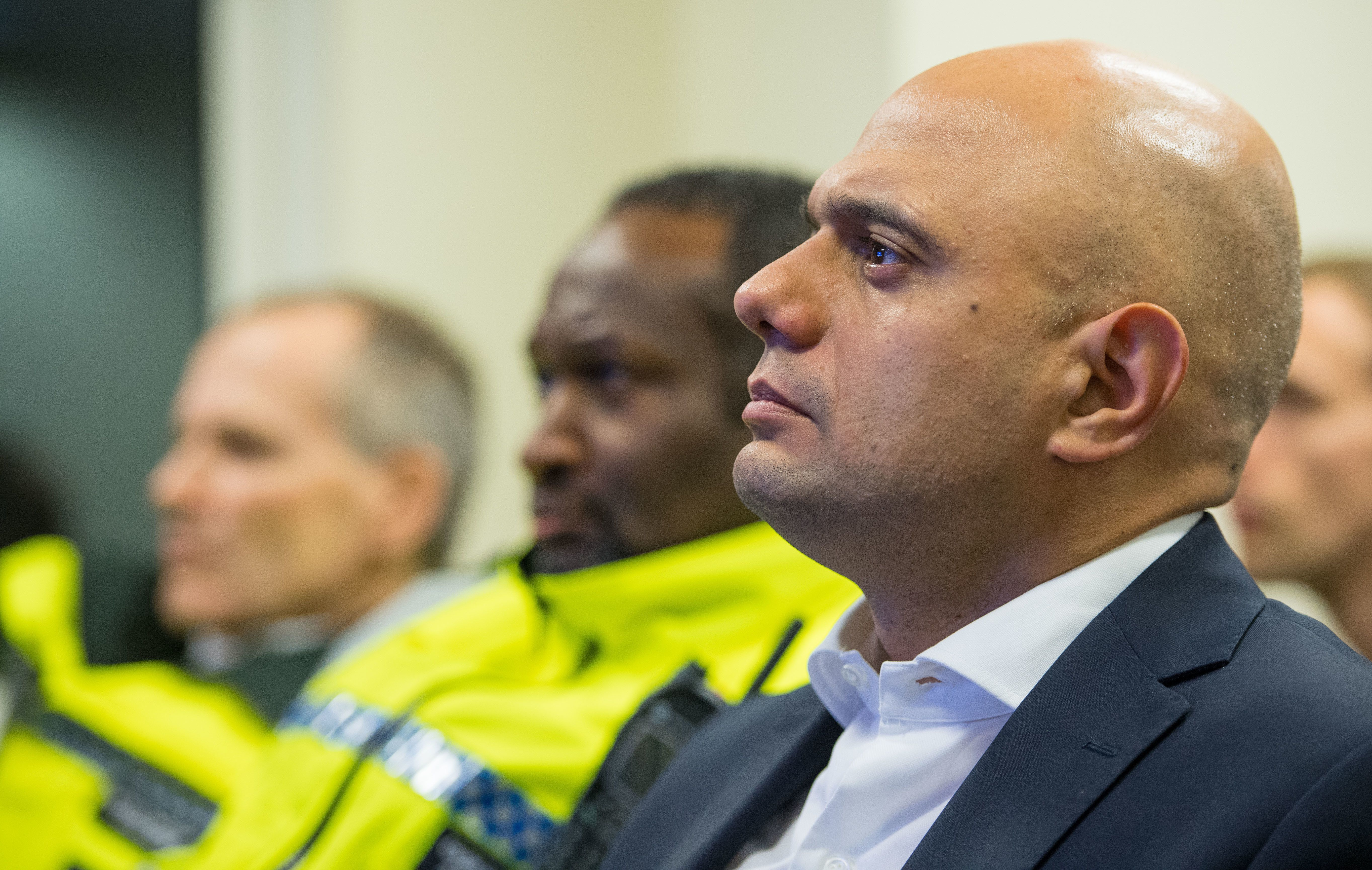 Home Secretary Sajid Javid has failed to deliver on promises of a real-terms increase in police