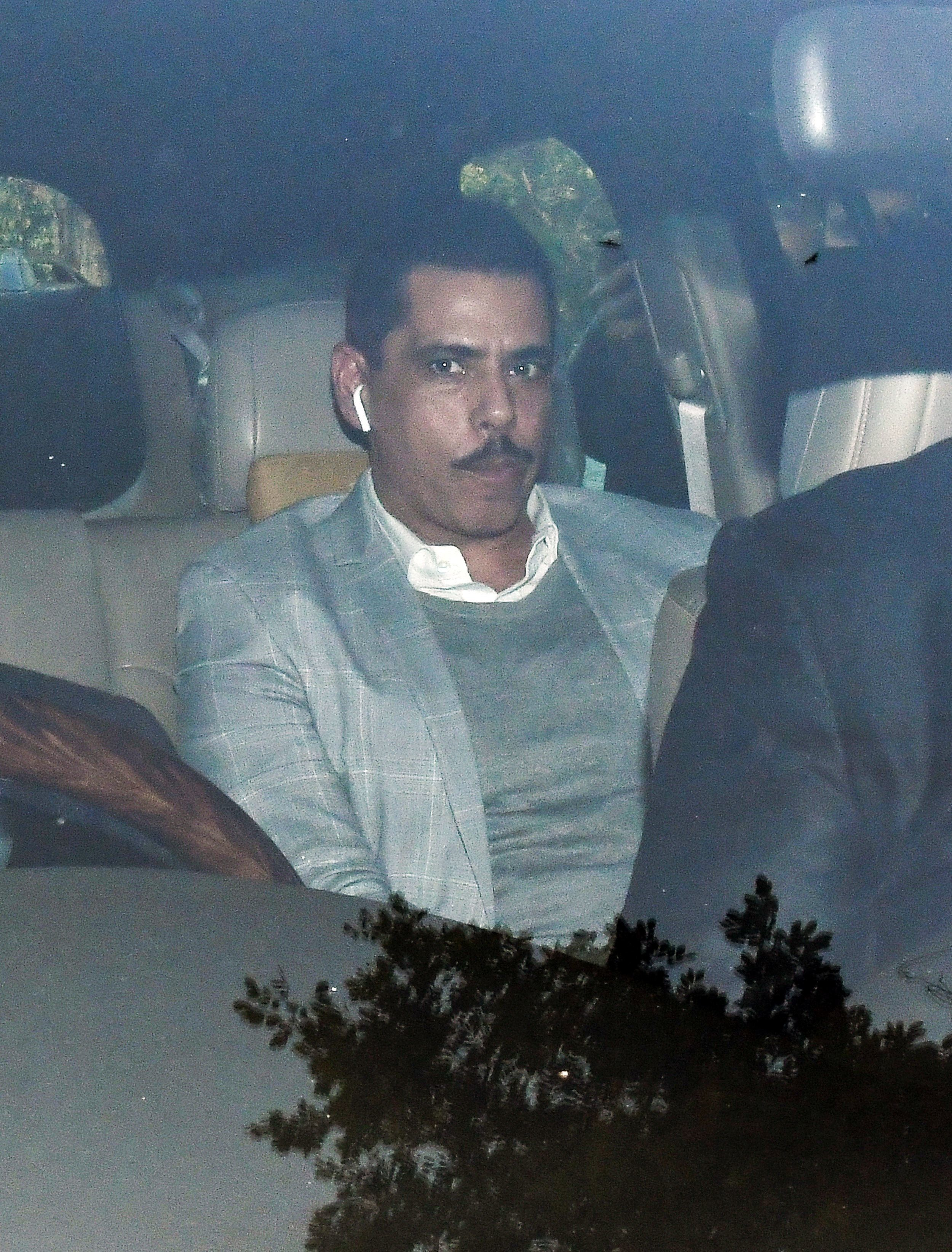 Robert Vadra Appears Before ED In Money Laundering