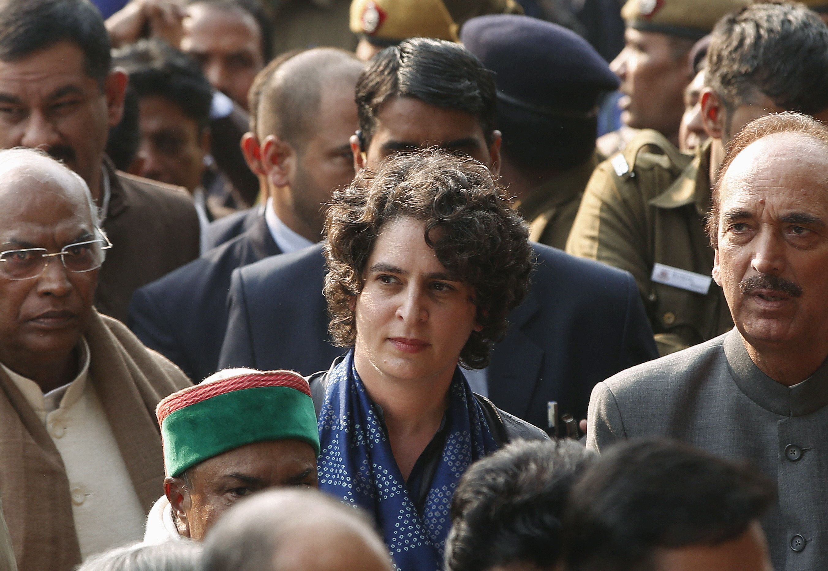 Priyanka Gandhi Takes Charge As Congress General Secretary, Says She Stands By Rober