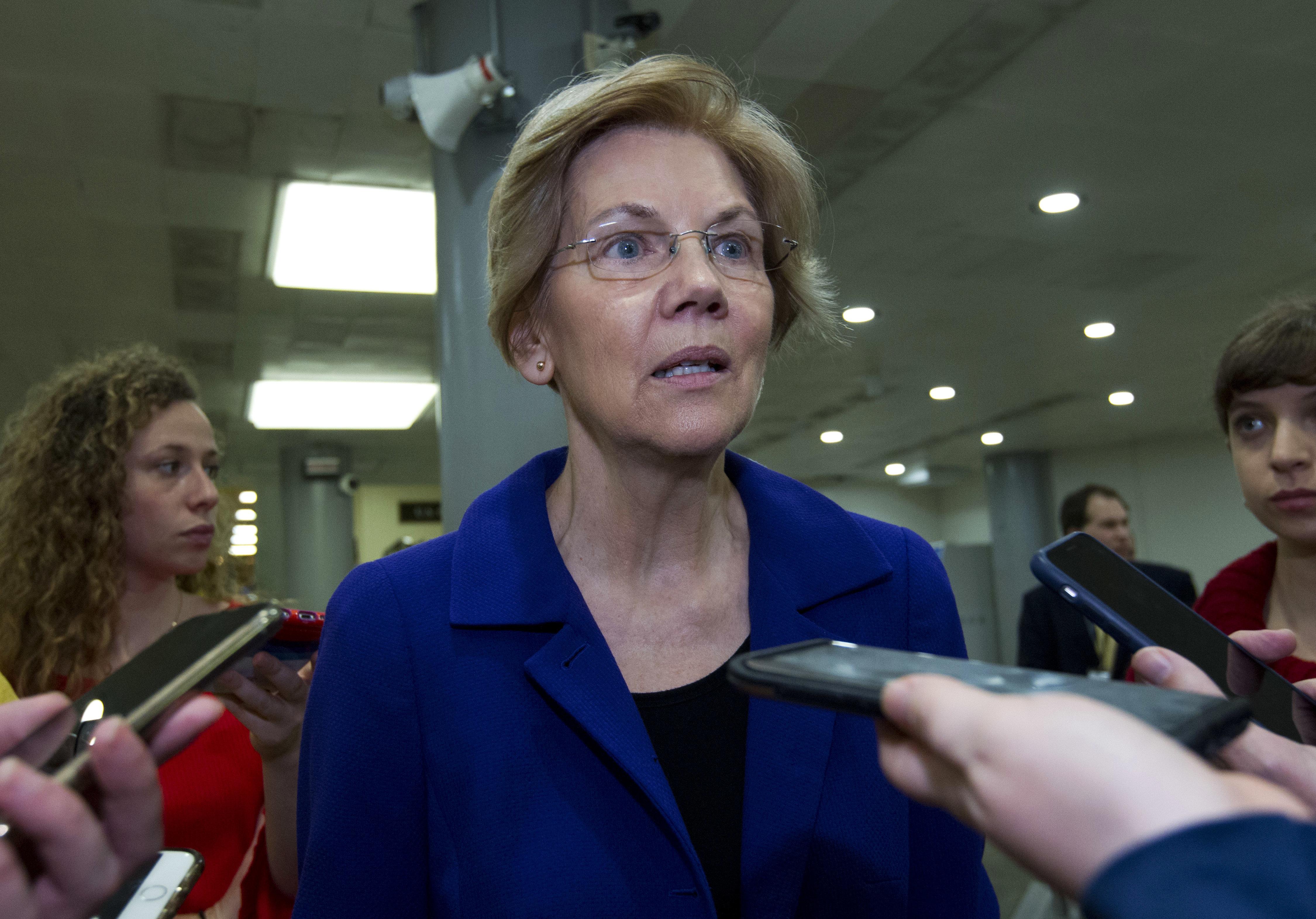 Warren Identified Herself As 'American Indian' On Texas Bar