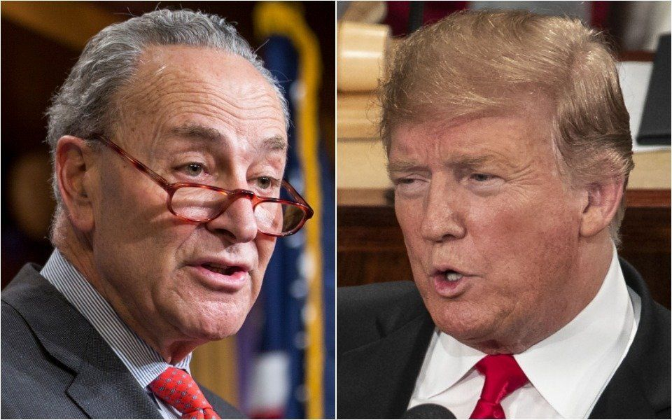 Chuck Schumer Sums Up 'Scared' Trump's SOTU With 4 Little