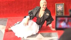Pink Gets Star On Hollywood Walk Of