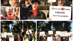 Gilets jaunes: Un sit-in en solidarité avec le mouvement devant l'ambassade de France à