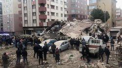 Κατάρρευση εξαώροφης πολυκατοικίας στην Κωνσταντινούπολη - Νεκροί και