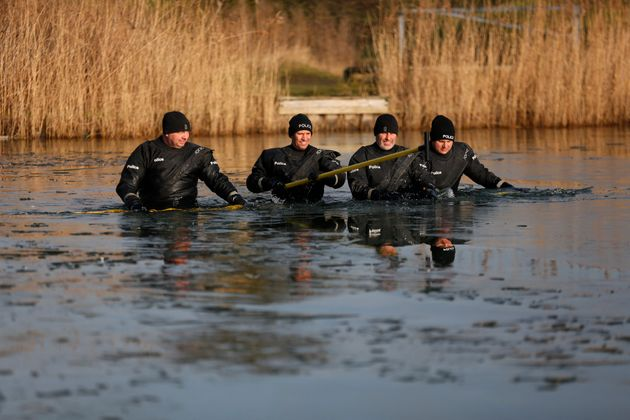 Police have searched bodies of water as part of the