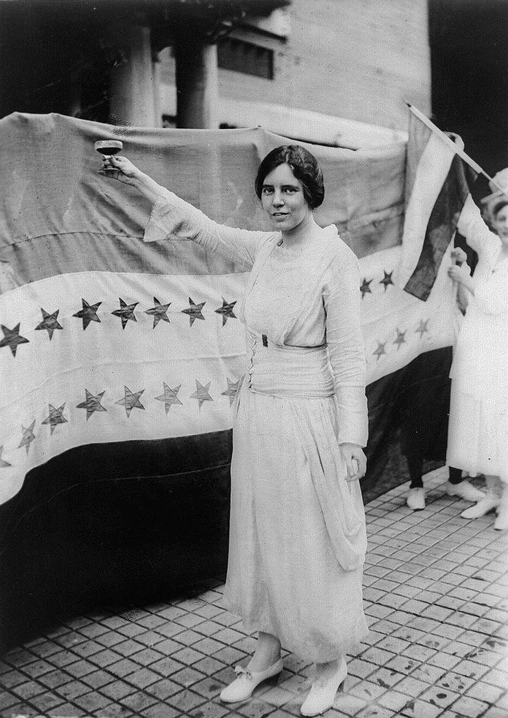 Alice Paul, American feminist, 1920.