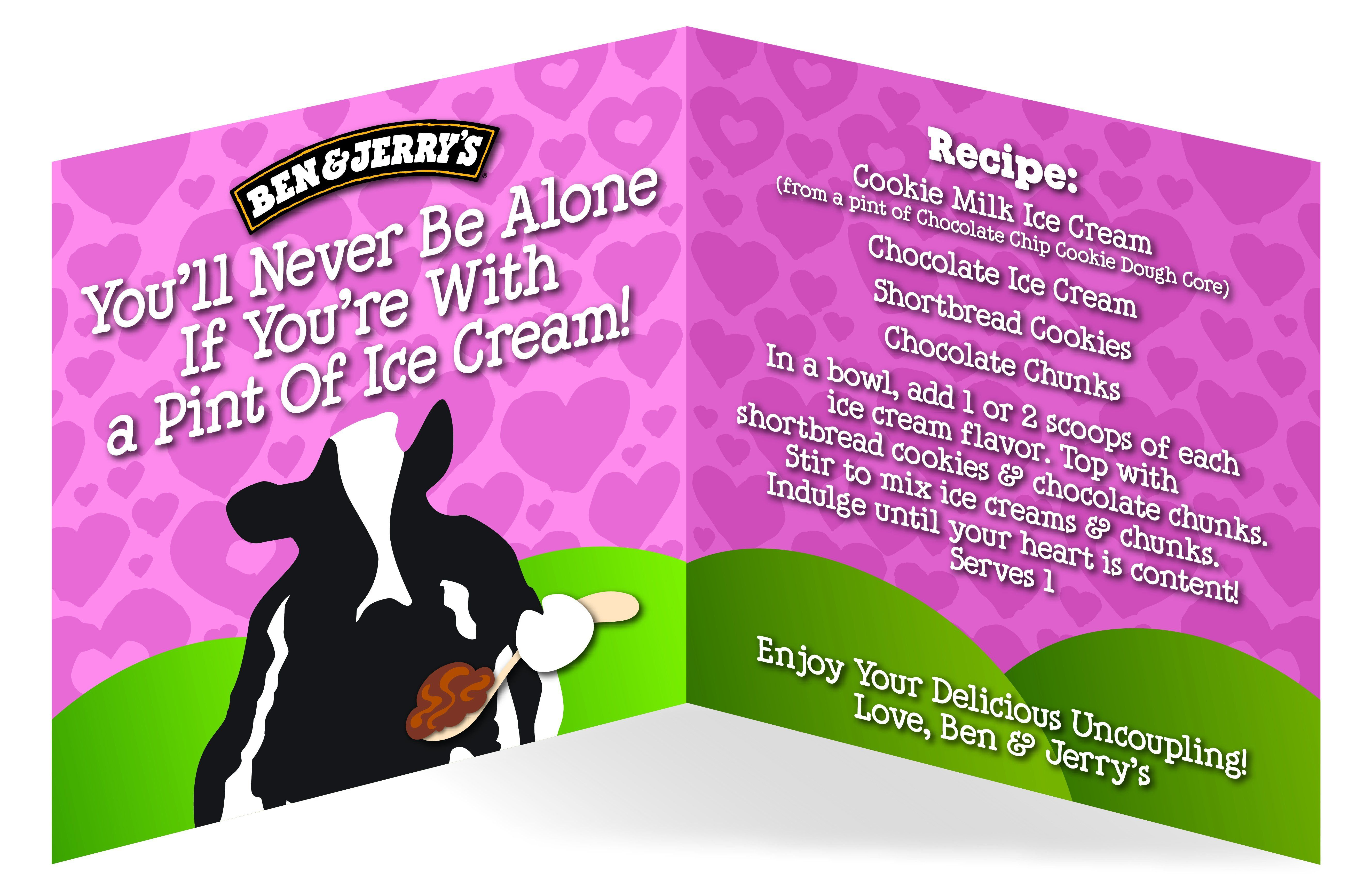 Ben & Jerry's Creates 'Delicious Uncoupling' Flavor For All The