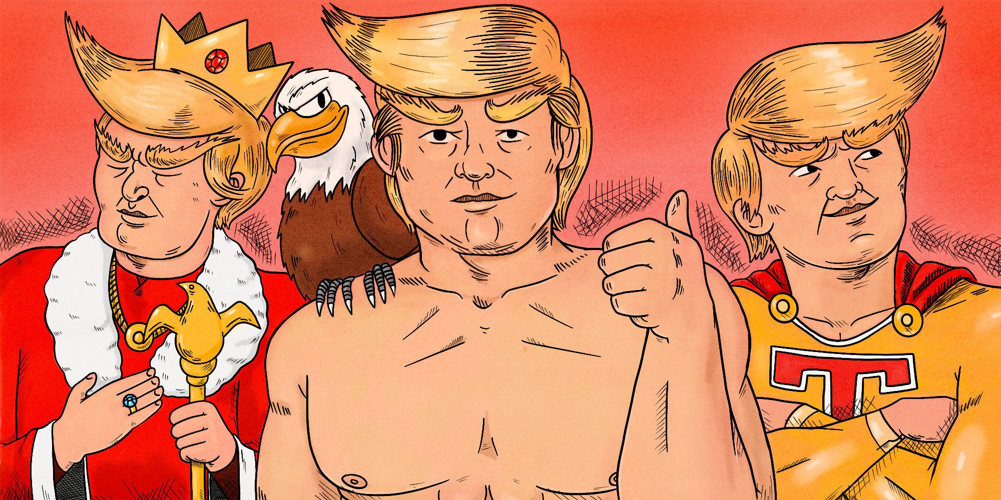 Are Ridiculous Pro-Trump Drawings Art? A HuffPost Discussion.