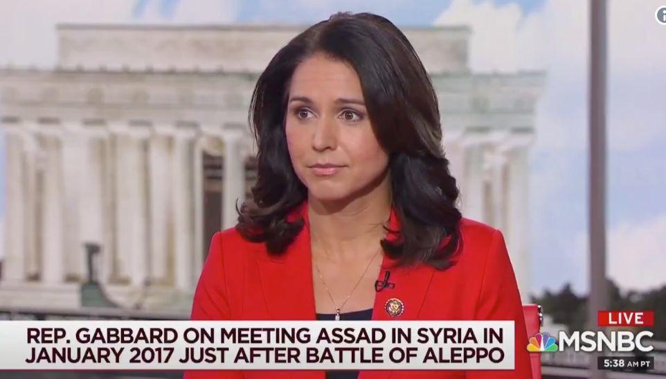 Rep. Tulsi Gabbard Says Syrian Dictator Bashar Assad Isn't Enemy Of