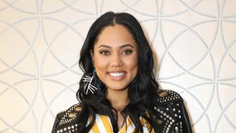 LOS ANGELES, CA - FEBRUARY 17:  Chef, Author and TV personality Ayesha Curry poses as The National Basketball Wives Assosciation presents the first annual Women's Empowerment Summit Luncheon on February 17, 2018 in Los Angeles, California.  (Photo by Cassy Athena/Getty Images)