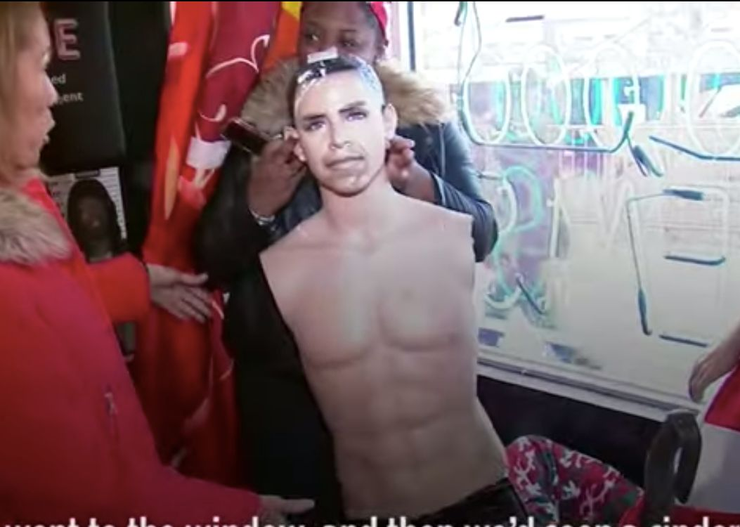 Obama Mannequin trashed in Harlem