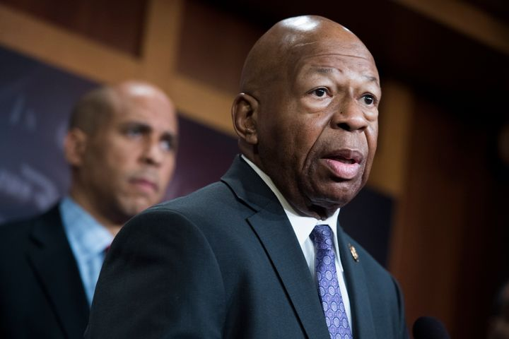 Elijah Cummings, chairman of the House Oversight and Reform Committee, said his mother urged him from her deathbed to protect