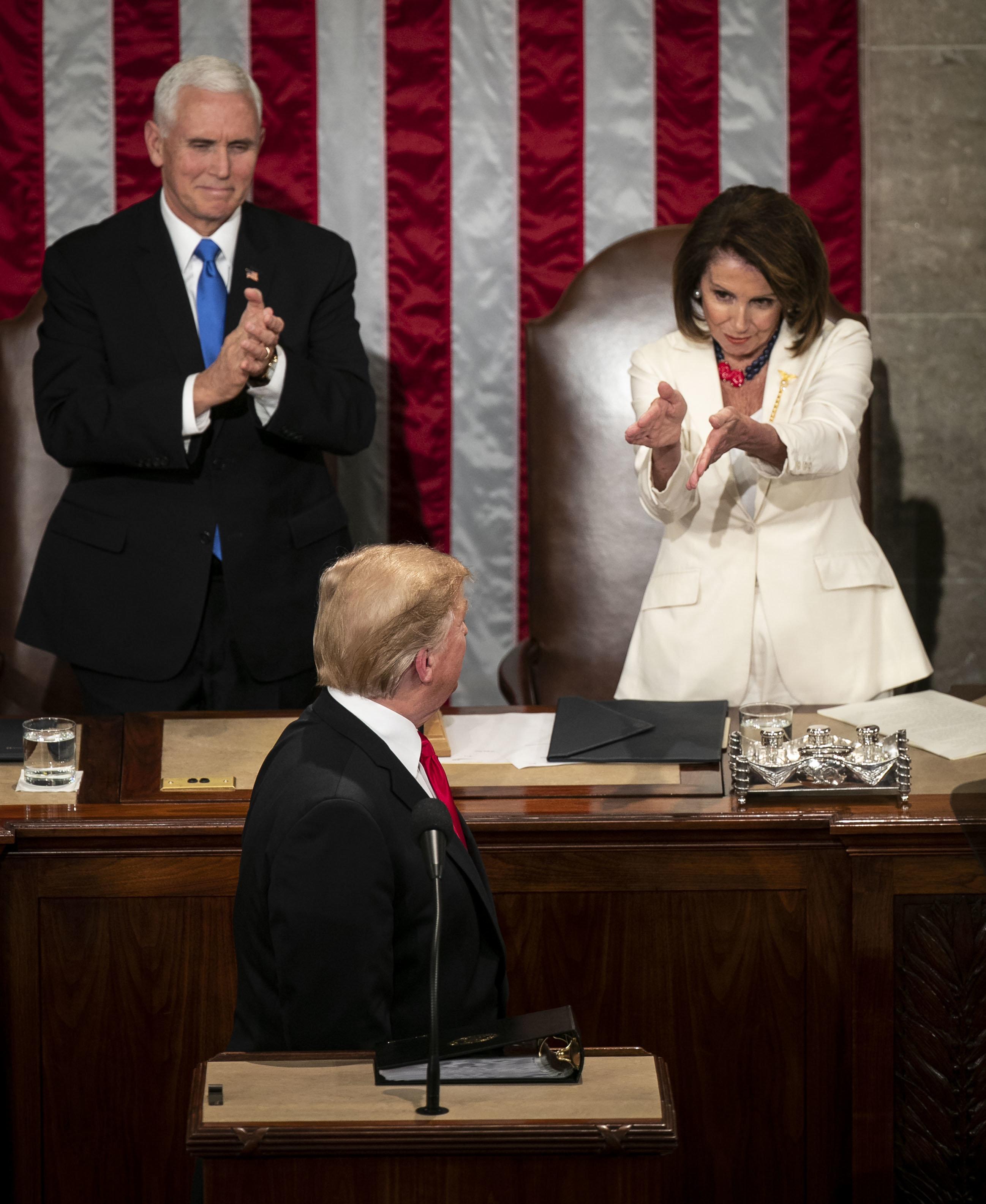 Nancy Pelosi's Daughter Jokes That Infamous Clap At Trump Took Her Back To Teen