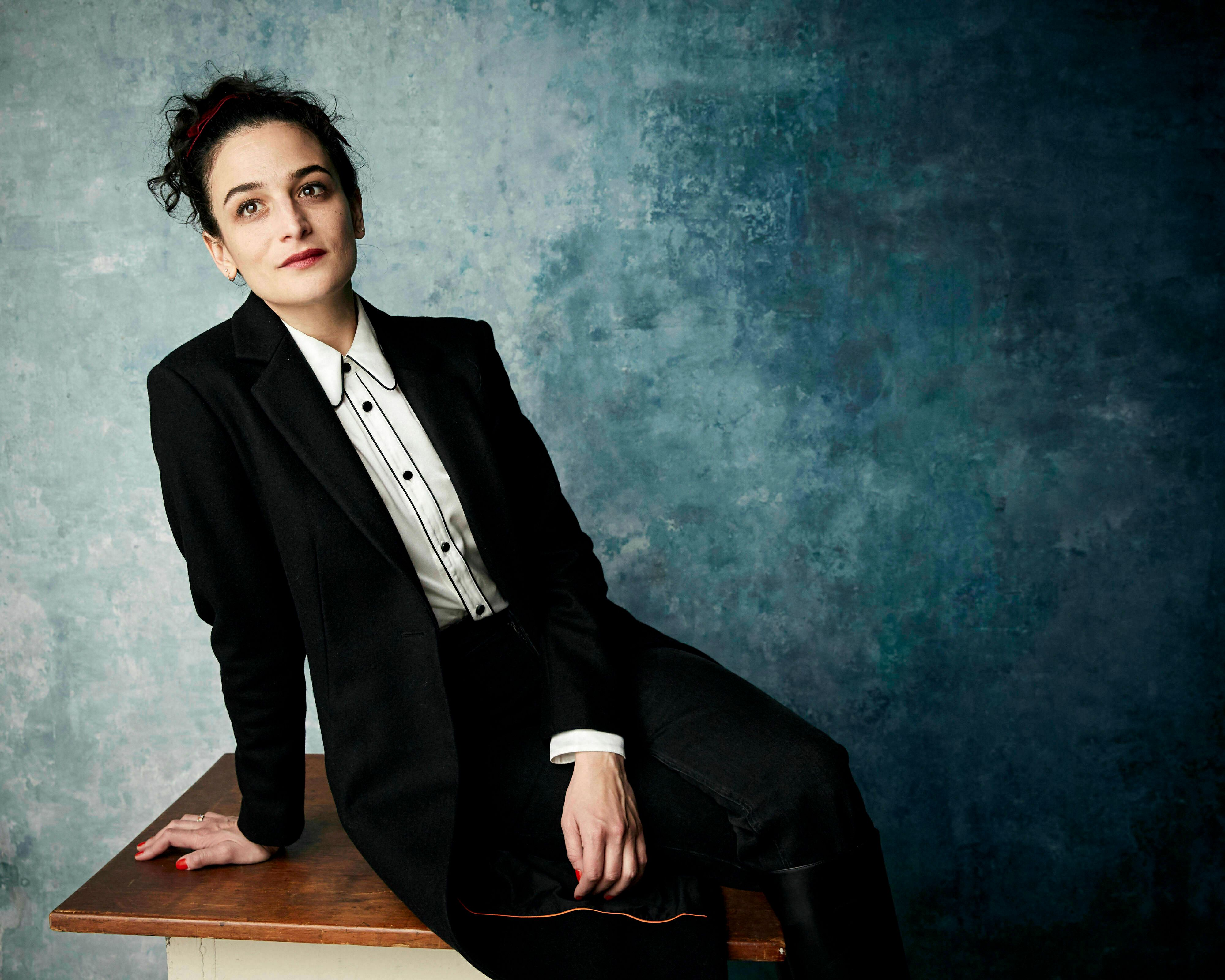 "Jenny Slate poses for a portrait to promote the film ""The Sunlit Night"" at the Salesforce Music Lodge during the Sundance Film Festival on Saturday, Jan. 26, 2019, in Park City, Utah. (Photo by Taylor Jewell/Invision/AP)"