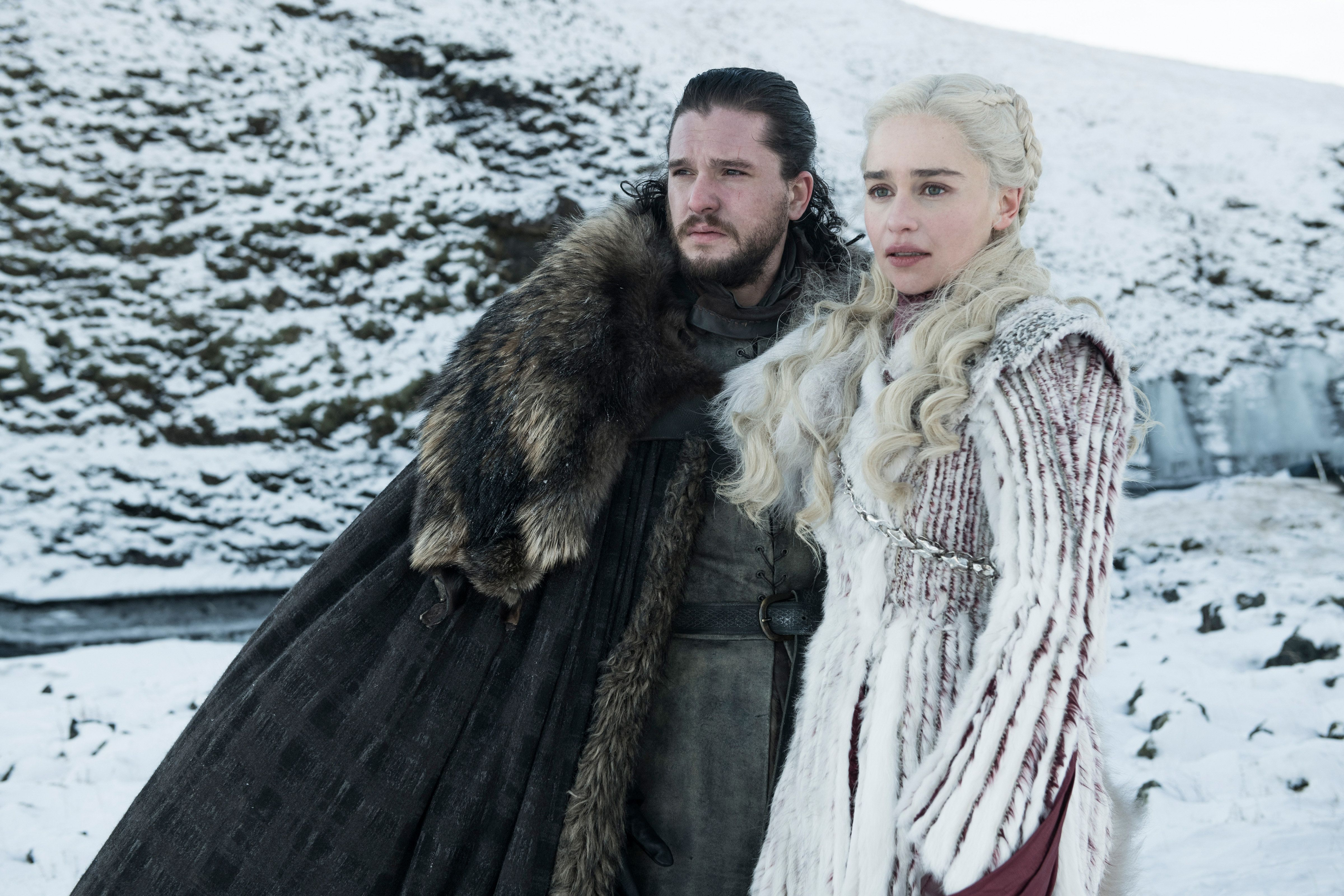 'Game Of Thrones' Season 8 Photos Are Dark And Full Of