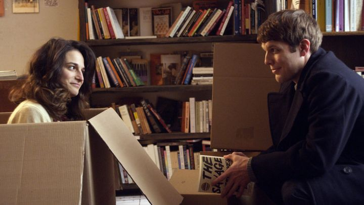 "Slate and Jake Lacy in ""Obvious Child."""