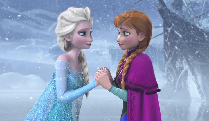 """A scene from Disney's """"Frozen"""""""