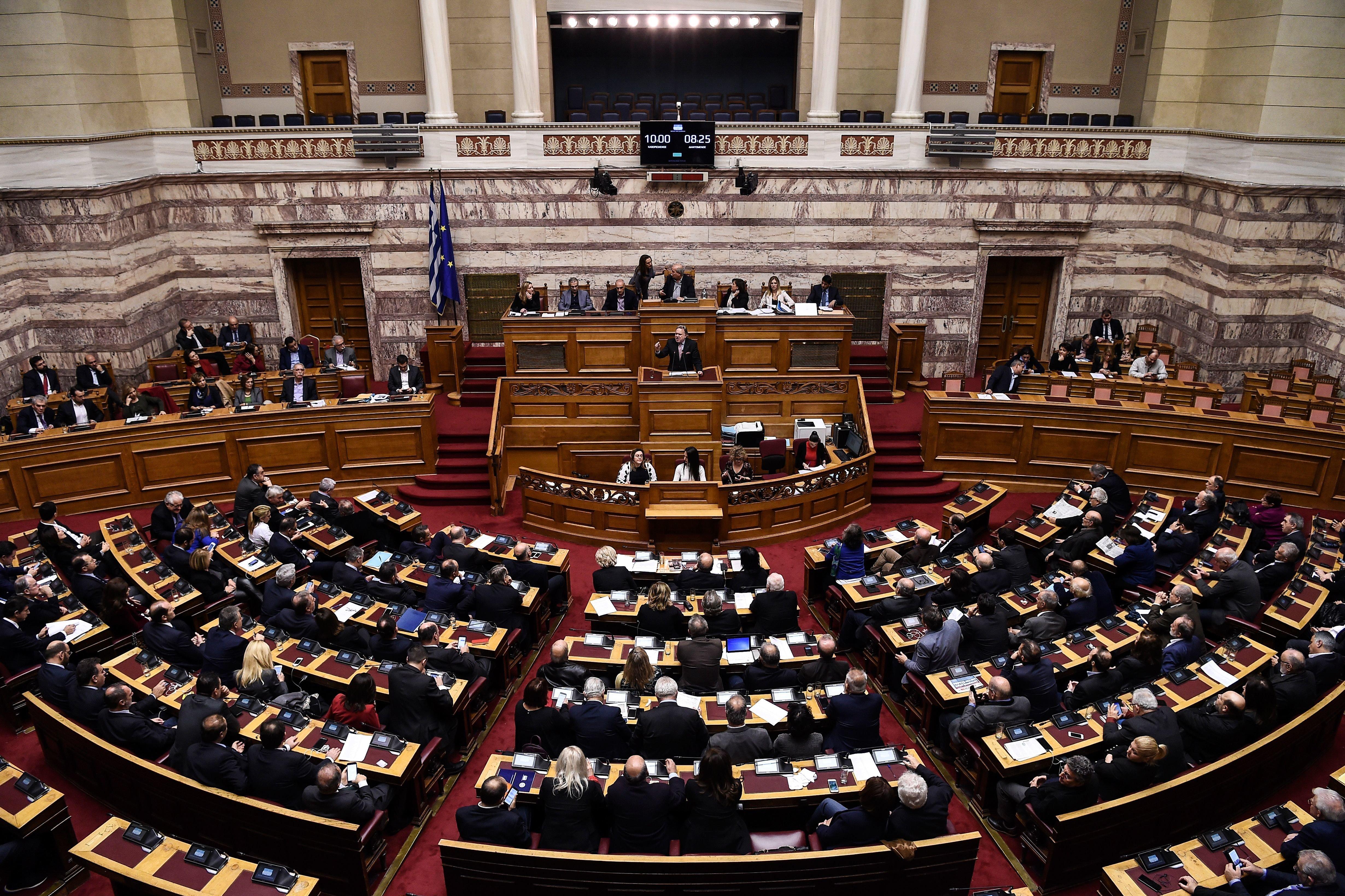 Στη Βουλή το Πρωτόκολλο προσχώρησης της Βόρειας Μακεδονίας στο
