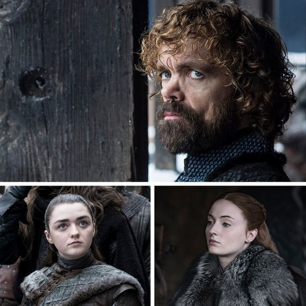 Starring Arya, Sansa and Tyrion as sad face