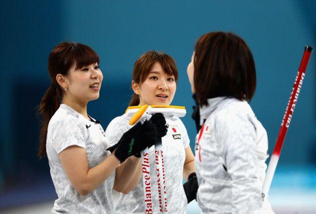 カーリング女子が銅メダル