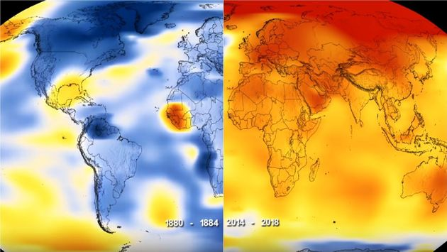 2018년은 기상 관측 사상 4번째로 더운