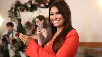 INWOOD, WEST VIRGINIA - OCTOBER 22: Kimberly Guilfoyle attends a campaign event for Republican U.S. Senate candidate Patrick Morrisey October 22, 2018 in Inwood, West Virginia. Morrisey is currently the Attorney General of West Virginia and is running against Sen. Joe Manchin (D-WV). (Photo by Win McNamee/Getty Images)